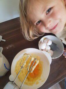 Beslag met eieren