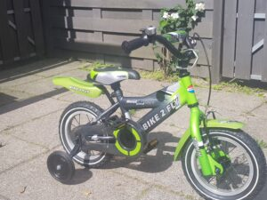 Guido zijn nieuwe fiets