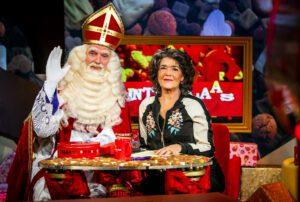 Sinterklaas en Diewertje Blok