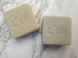 Voorkant Guhl shampoo bars