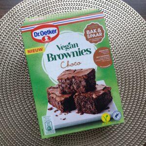 Verpakking Dr. Oetker brownies